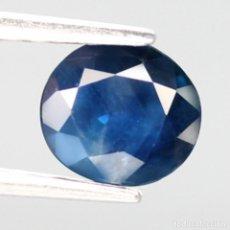 Coleccionismo de gemas: ZAFIRO 6,3 X 5,7 MM.. Lote 272982128