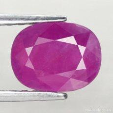 Coleccionismo de gemas: RUBI OVAL 8,5 X 6,6 MM.. Lote 252871000