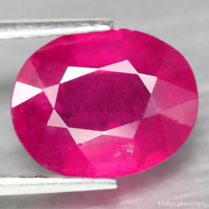 Coleccionismo de gemas: Rubi Oval 10,1 x 8,0 mm. - Foto 2 - 253338515