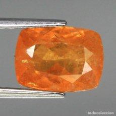 Coleccionismo de gemas: ESPESARTITA 9,3 X 6,8 MM.. Lote 253348425