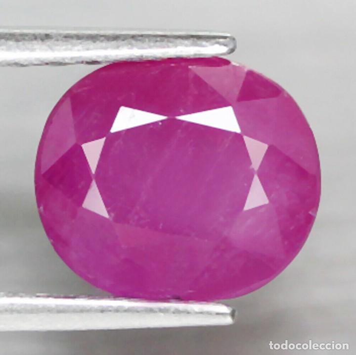 Coleccionismo de gemas: Rubi Oval 8,0 x 7,1 mm. - Foto 2 - 253349890
