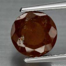 Coleccionismo de gemas: GRANATE HESSONITA NARANJA NATURAL REDONDO DE 2.28CT 7.2MM, SRI LANKA ESTE GRANATE HESSONITA.. Lote 253486960