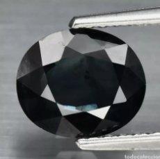 Coleccionismo de gemas: ZAFIRO AZUL VERDOSO PROFUNDO NATURAL OVALADO DE 1.59CT AUSTRALIA, SOLO CON CALEFACCIÓN. Lote 253492820