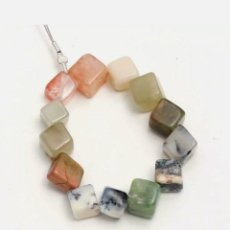Coleccionismo de gemas: LOTE DE 13 PIEDRAS NATURALES PARA COLGANTES, PULSERAS.. Lote 253925320