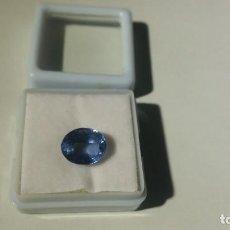 Coleccionismo de gemas: BONITA TANZANITA BRIDGMAN AZUL DE TALLA OVAL CON 5.25 CT CERTIFICADA. Lote 253947840