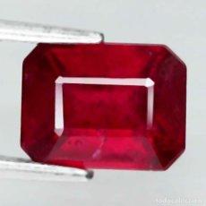 Coleccionismo de gemas: RUBI 7,6 X 5,8 MM.. Lote 254107735