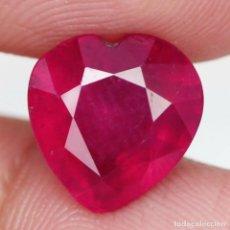 Coleccionismo de gemas: RUBI 9,9 X 9,7 MM.. Lote 254269040
