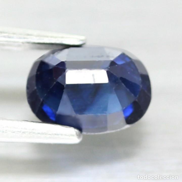 Coleccionismo de gemas: Zafiro 6,5 x 4,8 mm. - Foto 3 - 255195340