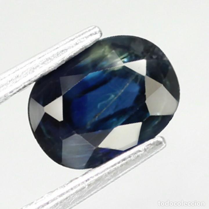 ZAFIRO 6,5 X 4,8 MM. (Coleccionismo - Mineralogía - Gemas)