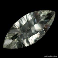 Coleccionismo de gemas: AMATISTA VERDE (PRASIOLITA) 25,0 X 10,8 MM. Lote 255668305