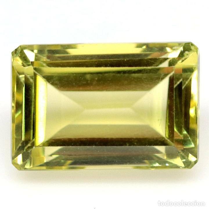 CUARZO 15,5 X 11,4 MM. (Coleccionismo - Mineralogía - Gemas)