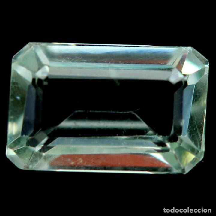 AMATISTA VERDE (PRASIOLITA) 12,0 X 8,0 MM (Coleccionismo - Mineralogía - Gemas)