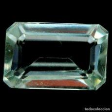 Coleccionismo de gemas: AMATISTA VERDE (PRASIOLITA) 12,0 X 8,0 MM. Lote 256020725