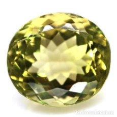 Coleccionismo de gemas: CUARZO OVAL 14,6 X 13,2 MM.. Lote 256029270