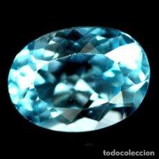 Coleccionismo de gemas: TOPACIO 13,9 X 10,1 MM.. Lote 257356395