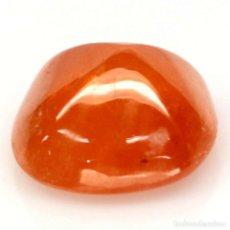 Coleccionismo de gemas: ESPESARTITA 9,4 X 9,4 MM.. Lote 257356585