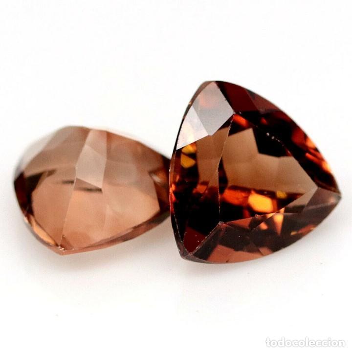 Coleccionismo de gemas: Topacio Champang 8,1 x 8,1 mm - Foto 2 - 257517745