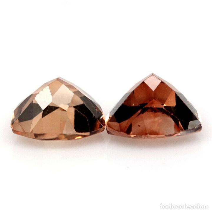 Coleccionismo de gemas: Topacio Champang 8,1 x 8,1 mm - Foto 3 - 257517745
