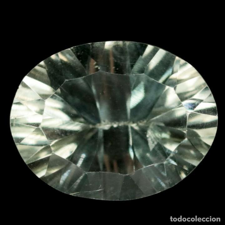 Coleccionismo de gemas: AMATISTA Verde (Prasiolita) 14,2 x 11,0 mm - Foto 2 - 257525495