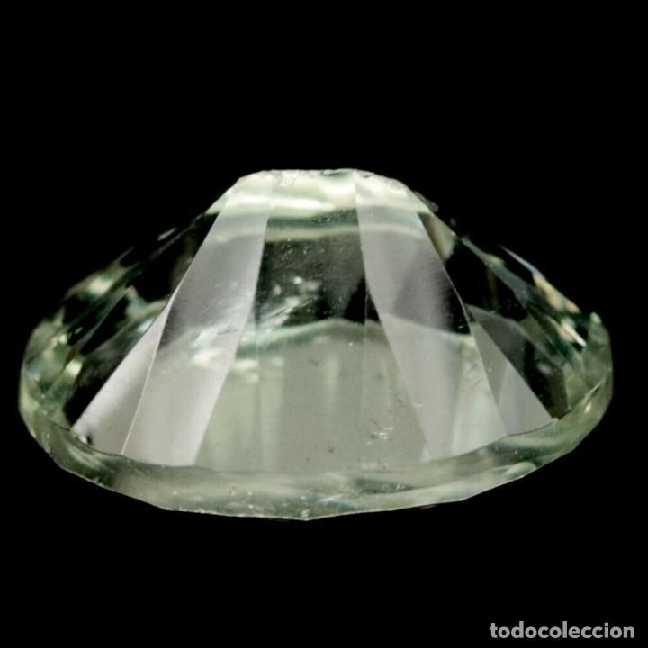 Coleccionismo de gemas: AMATISTA Verde (Prasiolita) 14,2 x 11,0 mm - Foto 3 - 257525495