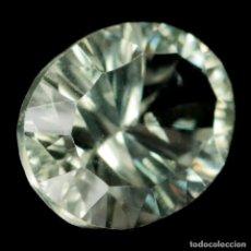 Coleccionismo de gemas: AMATISTA VERDE (PRASIOLITA) 14,2 X 11,0 MM. Lote 257525495