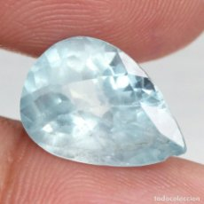 Coleccionismo de gemas: AGUAMARINA 13,7 X 9,6 MM.. Lote 258217950