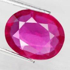 Coleccionismo de gemas: RUBI OVAL 11,0 X 8,3 MM.. Lote 258225885
