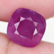 Coleccionismo de gemas: RUBI 9,0 X 8,9 MM.. Lote 258806305