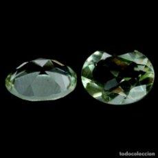 Collezionismo di gemme: AMATISTA VERDE (PRASIOLITA) 10,0 X 8,0 MM. Lote 259043020