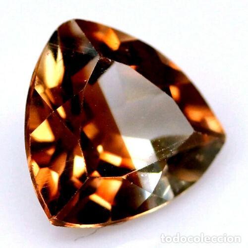 Coleccionismo de gemas: Topacio Champang 9,0 x 9,0 mm - Foto 2 - 259043100