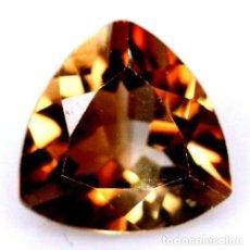 Coleccionismo de gemas: TOPACIO CHAMPANG 9,0 X 9,0 MM. Lote 259043100