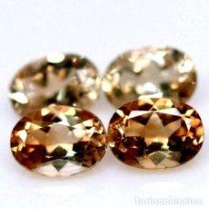 Coleccionismo de gemas: TOPACIO CHAMPAGNE 8,0 X 6,0 MM. Lote 259043070