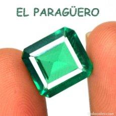Coleccionismo de gemas: ESMERALDA VERDE DE 5,90 KILATES CERTIFICADO AGI MEDIDA 1,0X0,9X0,5 CENTIMETROS-Nº2. Lote 260860700
