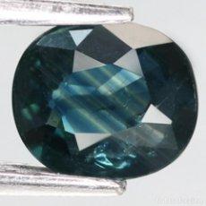 Coleccionismo de gemas: ZAFIRO OVAL 6,5 X 5,7 MM.. Lote 261304885