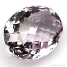 Coleccionismo de gemas: AMATISTA 17,7 X 13,6 MM.. Lote 261994210