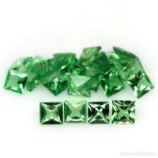 Collezionismo di gemme: TSAVORITA CUADRADO 2,5 X 2,5 MM.. Lote 261995640