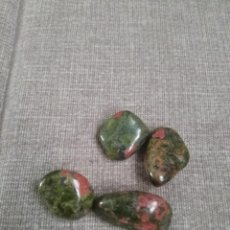 Coleccionismo de gemas: LOTE DE 4 UNAKITAS NATURALES. Lote 271696913