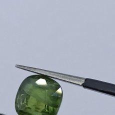Coleccionismo de gemas: ZAFIRO VERDE 1.86 CT NATURAL. Lote 272141198