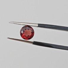 Coleccionismo de gemas: GRANATE CORTE REDONDO 0,79CT - 5,9 MM. Lote 272496668