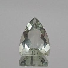 Coleccionismo de gemas: AMATISTA VERDE TALLA TRILLANTE 6,25 CT. Lote 272716528