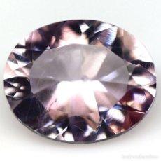 Coleccionismo de gemas: AMATISTA 11,8 X 9,6 MM.. Lote 272987313