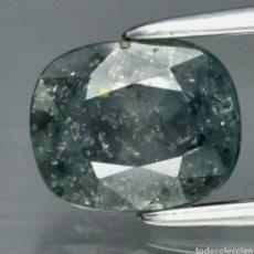 Coleccionismo de gemas: ZAFIRO 1.98CT AZUL VERDOSO NATURAL ÁFRICA. Lote 273371218