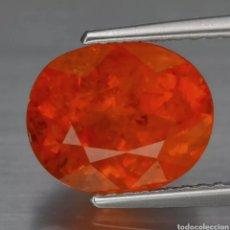 Coleccionismo de gemas: GRANATE ESPESARTITA 3.68CT NATURAL NAMIBIA ÁFRICA. Lote 273396978
