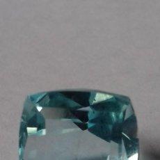 Coleccionismo de gemas: AGUAMARINA HYDRO NATURAL TALLADA PROCEDENTE DE BRASIL. Lote 273748153