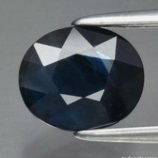 Coleccionismo de gemas: ZAFIRO NATURAL 1,16CT ÁFRICA. Lote 273775948