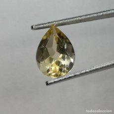 Coleccionismo de gemas: CITRINE NATURELLE DU BRÉSIL - POIRE 1.84 CTS - 10X7X5 MM. Lote 277414798