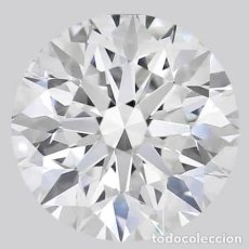 Coleccionismo de gemas: GIA LAB CERTIFY NATURAL DIAMOND 10.10CT. Lote 278193823