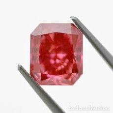 Coleccionismo de gemas: GIA LAB CERTIFY VIVID PINK NATURAL DIAMOND 3.52CT. Lote 278206073