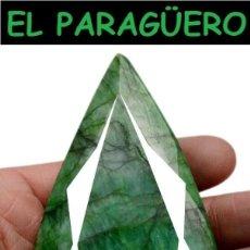 Coleccionismo de gemas: PIEZA DE MUSEO GIGANTE ESMERALDA DE COLOMBIA DE 1096 KILATS MIDE 10,8 X 6,0 X 2,8 CENTIMETROS - Eº2. Lote 279580093