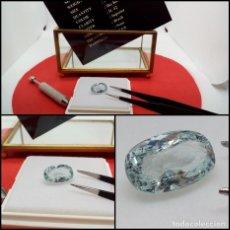 Coleccionismo de gemas: AGUAMARINA SIN TRATAR BRASIL OVAL 4.84 CT.. Lote 280113818